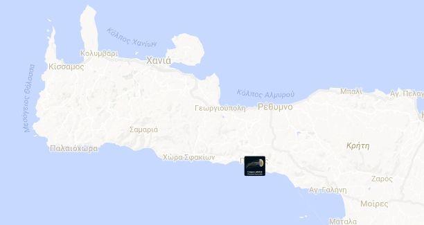 Χάρτης: Πού εμφανίζονται μέδουσες στη χώρα μας