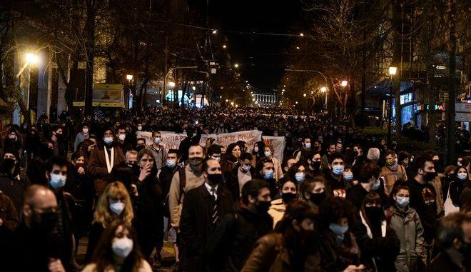 Συγκέντρωση αλληλεγγύης στον απεργό πείνας και δίψας Δημήτρη Κουφοντίνα