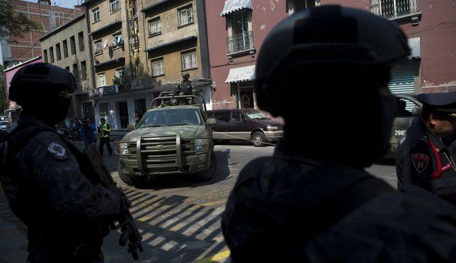 Άνδρες ασφαλείας του Μεξικού