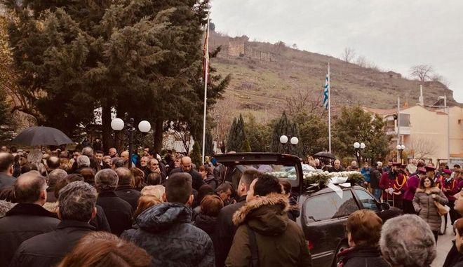 Η κηδεία της 21χρονης Ελένης Τοπαλούδη