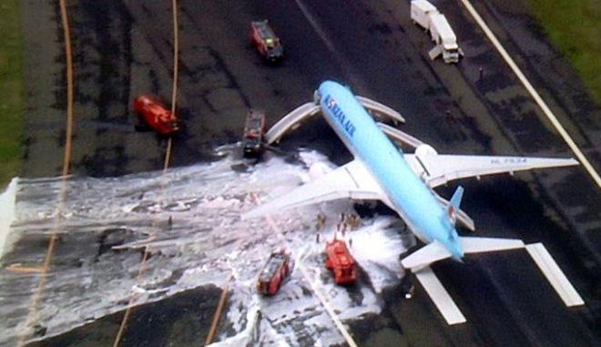 Ιαπωνία: Εκκένωση αεροσκάφους των κορεατικών αερογραμμών λόγω καπνού στον κινητήρα