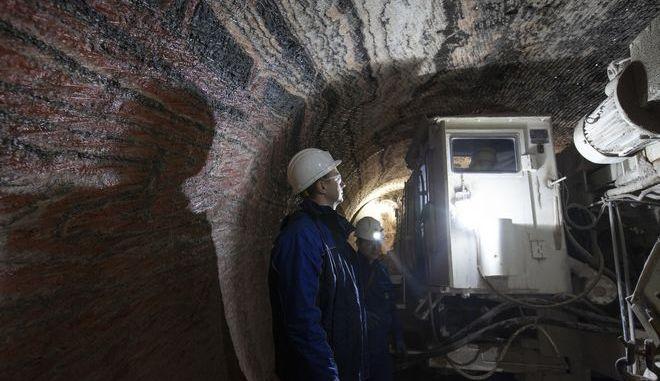 Ορυχείο στη Ρωσία - Φωτογραφία αρχείου
