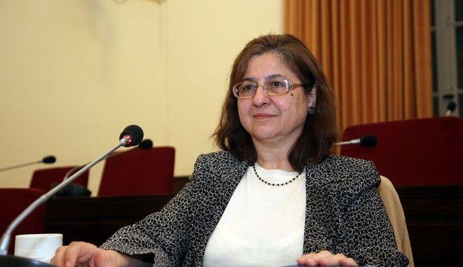 ΑΘΗΝΑ-Η Εξεταστική Επιτροπή ''Σχετικά με το έλλειμμα του 2009''  Εξέταση μαρτύρων, Ζωή Γεωργαντά.(EUROKINISSI-ΓΙΑΝΝΗΣ ΠΑΝΑΓΟΠΟΥΛΟΣ)