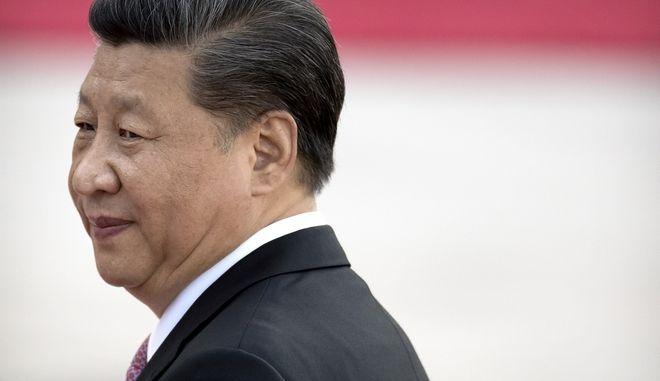 Ο πρόεδρος της Κίνας Σι Τζινπίνγκ
