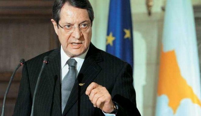 Διαβεβαιώσεις Αναστασιάδη: Η λύση του Κυπριακού δεν θα είναι Συνομοσπονδία
