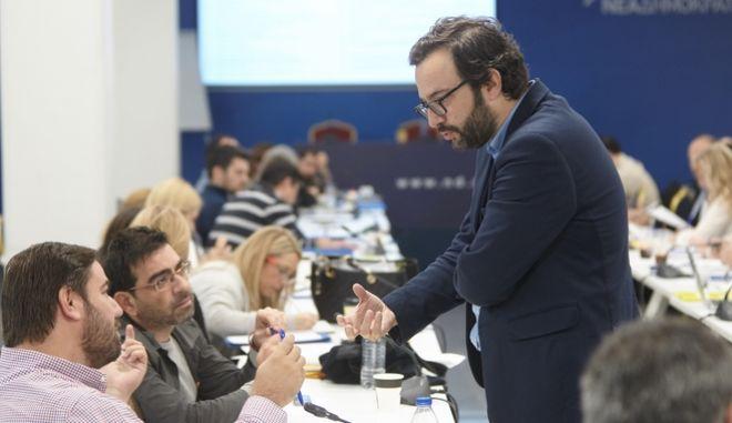 Νέος γραμματέας Στρατηγικού Σχεδιασμού της ΝΔ ο Χρήστος Ταραντίλης