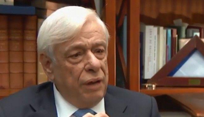 Ο Προκόπης Παυλόπουλος σε τηλεοπτική εκπομπή