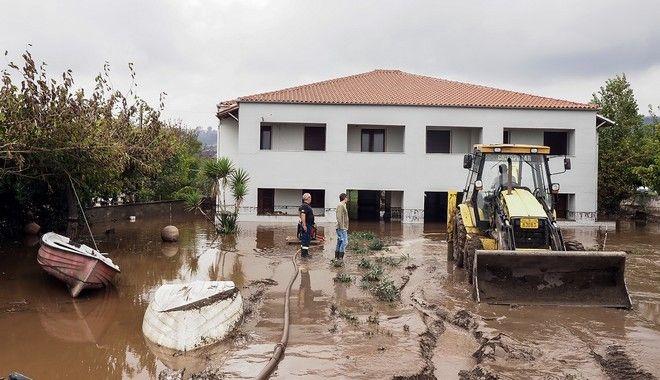 Πλημμύρες στη Βόρεια Εύβοια