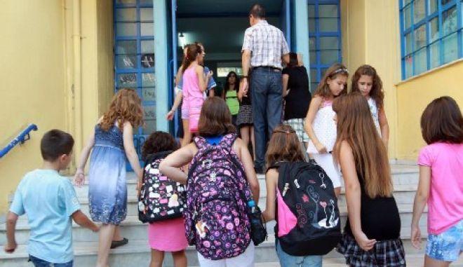 Ανεμιστήρας αποκολλήθηκε και τραυμάτισε μαθητές δημοτικού