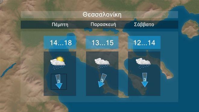 Βροχές και πτώση θερμοκρασίας - Νέο κύμα έντονων φαινομένων στο τέλος της εβδομάδας
