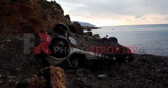 Σε αυτή την παραλία βρέθηκε νεκρή η 26χρονη Ηλιάννα από τη Λακωνία