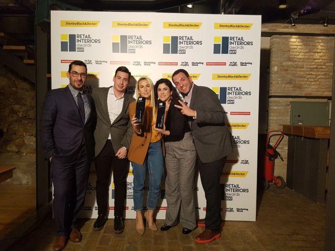 2 Βραβεία΄Best Interior' & 'Concept Store' στο νέο πρότυπο κατάστημα της Candia από τα Retail Interior Awards!