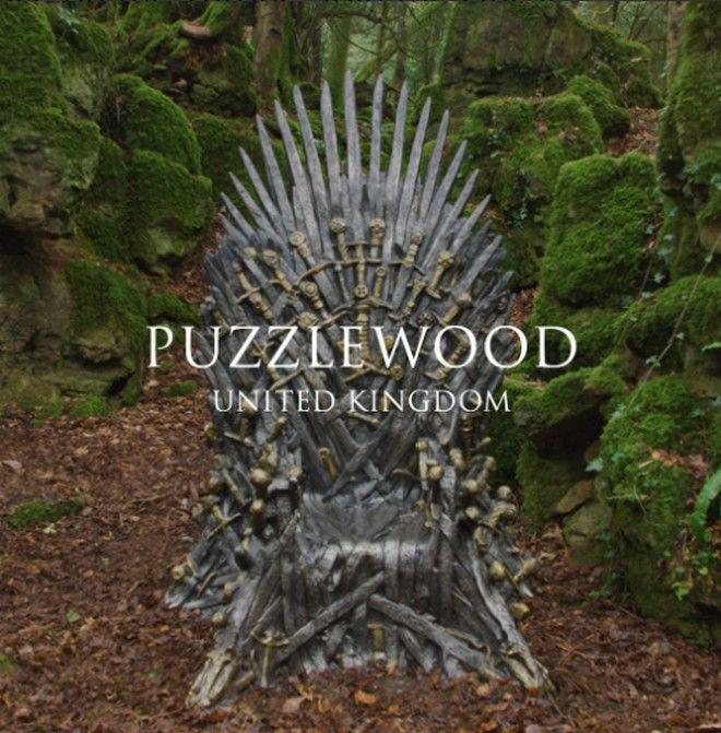 O Θρόνος του Δάσους, στο Πάζλγουντ της Αγγλίας