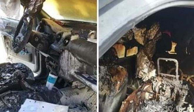 Σάμος: Πυρπόλησαν αυτοκίνητο νοσηλεύτριας, εθελόντριας στο ΚΥΤ
