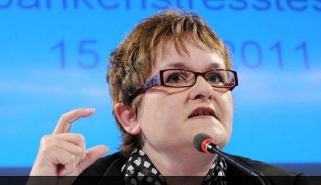 Η αντιπρόεδρος της Μπούντεσμπανκ Σαμπίνε Λαουτενσλέγκερ πιθανότερη αντικαταστάτρια του Γεργκ Άσμουσεν στην ΕΚΤ