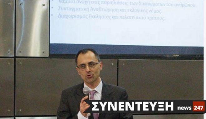 """Ο Π. Ελευθεριάδης στο NEWS 247: """"Προτείνουμε 3 μεταρρυθμίσεις, που θα αλλάξουν την Ελλάδα"""""""