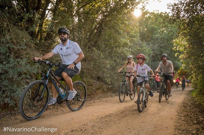Ποδηλατάδα στην Βοϊδοκοιλιά, στο Navarino Challenge