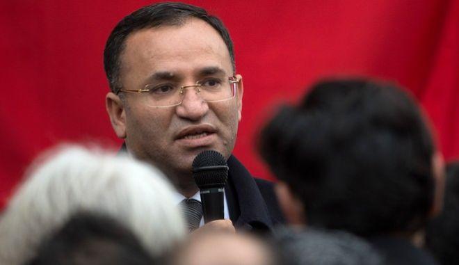 Ο αντιπρόεδρος της τουρκικής κυβέρνησης Μπεκίρ Μποζντάγ
