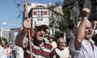 Φωτό αρχείου: Συγκέντρωση διαμαρτυρίας συνταξιούχων