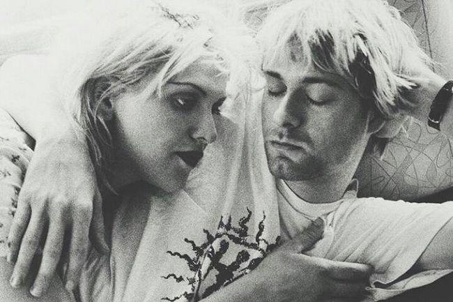 Kurt και Courtney 1992