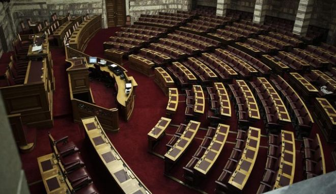 3rd Presidential vote at the Plenary hall of the Greek Parliament, on Dec. 29, 2014 /      ,    ,  29 , 2014