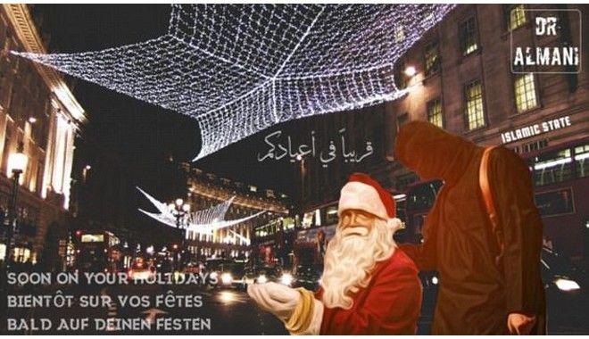 Με 'ματωμένα Χριστούγεννα' απειλεί και φέτος το Ισλαμικό Κράτος
