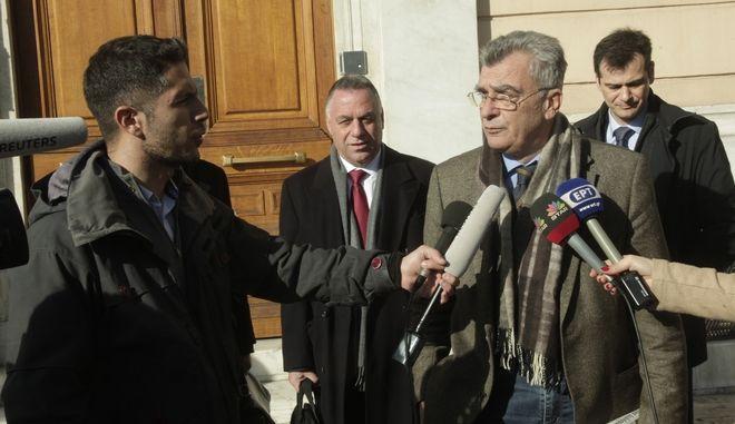 Ο δήμαρχος Λέσβου Σπύρος Γαληνός (φωτογραφία αρχείου)