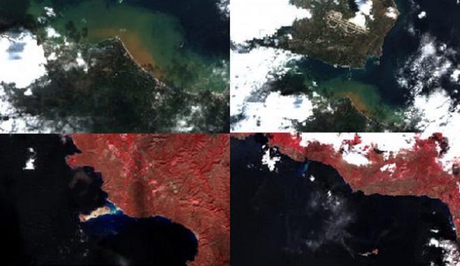 """Δορυφορικό """"οδοιπορικό"""" μετά την κακοκαιρία στην Κρήτη"""