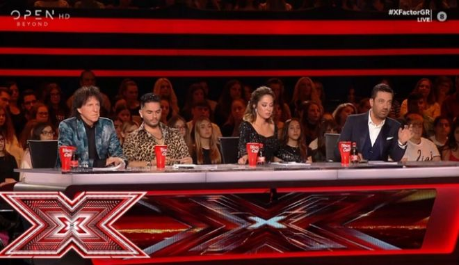 X Factor - Κριτική επιτροπή