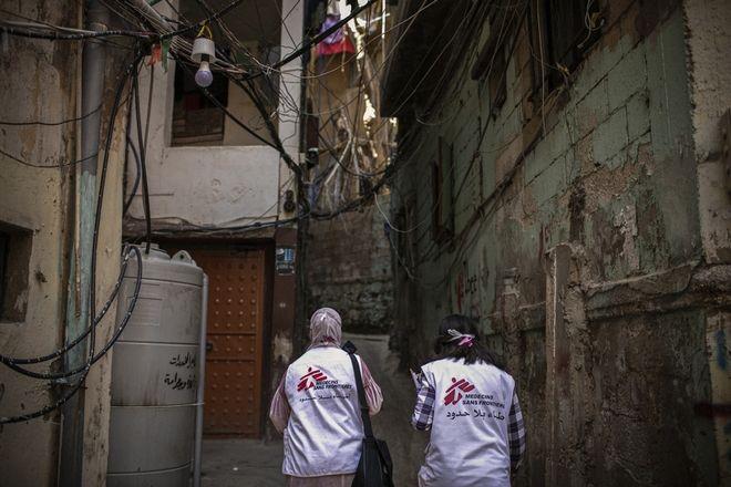 Μαία στον Λίβανο σε περίοδο πανδημίας