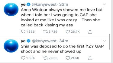 Εκτός ελέγχου ο Kanye West στο Twitter: Η Kim έφερε γιατρό για να με κλείσει μέσα