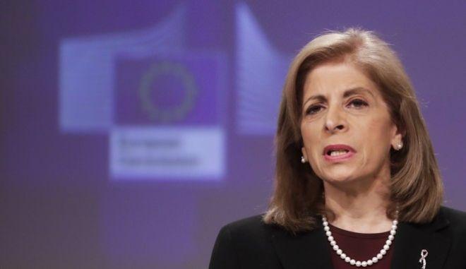 Η Επίτροπος Υγείας της Ευρωπαϊκής Ένωσης, Στέλλα Κυριακίδου