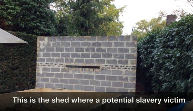 Ζευγάρι κρατούσε σκλάβο στο σπιτάκι του κήπου τέσσερα χρόνια και του έδινε ληγμένα
