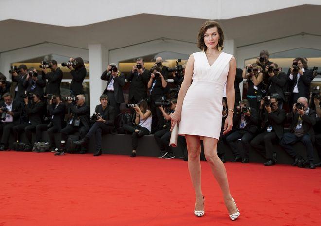 Η Milla Jovovich στο κινηματογραφικό Φεστιβάλ Βενετίας