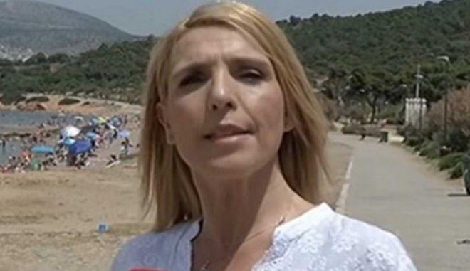 Επίθεση με πέτρες σε δημοσιογράφο του Alpha για ρεπορτάζ στις παραλίες