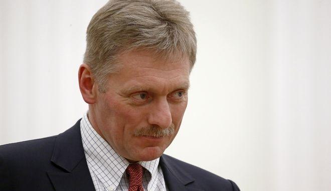 Ο εκπρόσωπος του Ρώσου Προέδρου, Ντμίτρι Πεσκόφ