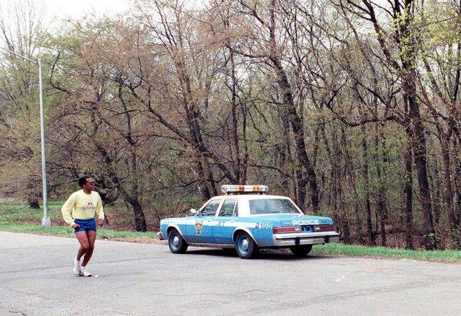 Το σημείο όπου στις 19 Απριλίου 1989 βρέθηκε μια 28χρονη γυναίκα έπεσε θύμα βιασμού. Για την επίθεση συνελήφθησαν και καταδικάστηκαν 5 ανήλικοι, οι οποίοι όπως αποδείχθηκε πολλά χρόνια μετά τον εγκλεισμό τους στη φυλακή, ήταν αθώοι (AP Photo/Mario Suriani, FILE)