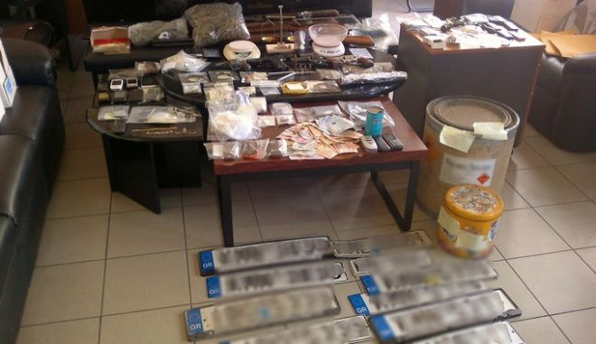 Μπήκε τέλος στη δράση μεγάλου κυκλώματος διακίνησης ναρκωτικών στην Πελοπόννησο