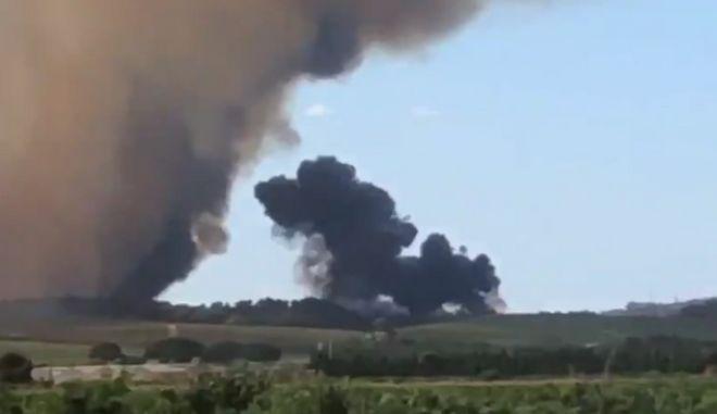 Γαλλία: Πυροσβεστικό αεροσκάφος συνετρίβη στην επαρχία Γκαρντ