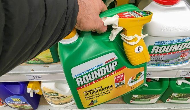 Το ζιζανιοκτόνο της Μονσάντο Roundup