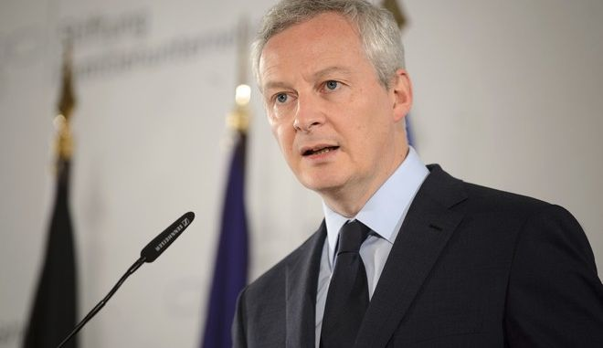 O υπουργός Οικονομίας και Οικονομικών της Γαλλίας, Μπρουνό Λεμέρ
