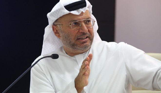 Ο υπουργός Εξωτερικών των Ηνωμένων Αραβικών Εμιράτων Ανουάρ Γκαργκάς
