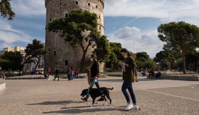 Πολίτες στη Θεσσαλονίκη