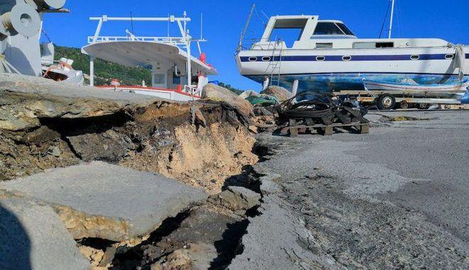 Από τον ισχυρό σεισμό 6,6 ρίχτερ στον υποθαλάσσιο χώρο ανοικτα της Ζακύνθου