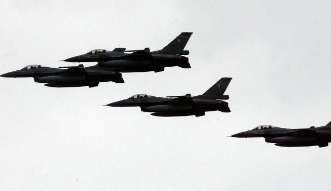 F-16 στο Αιγαίο