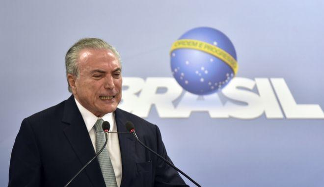 Ο πρόεδρος της Βραζιλίας κατηγορείται για παρακώλυση της δικαιοσύνης