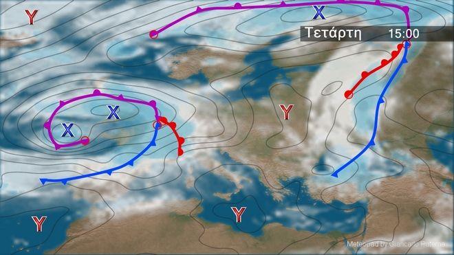 Γενικά βελτιωμένος καιρός την Τετάρτη - Μικρή άνοδος της θερμοκρασίας