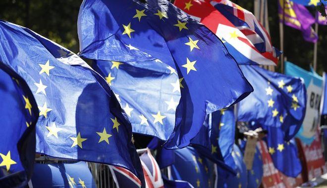 Εικόνα έξω από το κοινοβούλιο στο Λονδίνο
