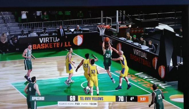H δράση από τα παρκέ στο ΠΑΜΕ ΣΤΟΙΧΗΜΑ Virtual Sports Μπάσκετ
