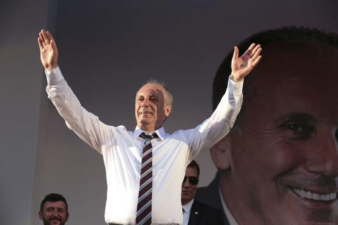Ο ηγέτης του CHP Μουχαρέμ Ιντζέ